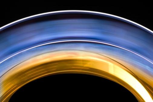 Spinning「Neon rainbow」:スマホ壁紙(12)