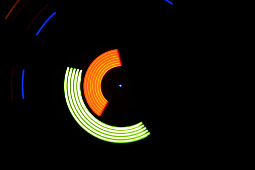 Focus On Background「Circular Technology Light Elements」:スマホ壁紙(11)