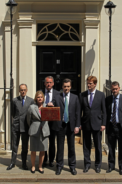 Treasury - Finance and Government「Chancellor George Osborne Delivers Emergency Budget」:写真・画像(8)[壁紙.com]