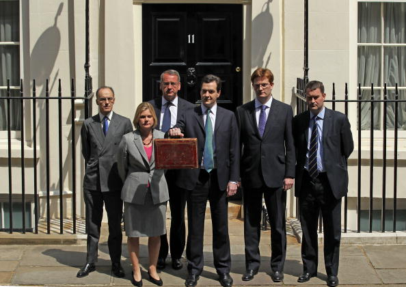 Treasury - Finance and Government「Chancellor George Osborne Delivers Emergency Budget」:写真・画像(3)[壁紙.com]