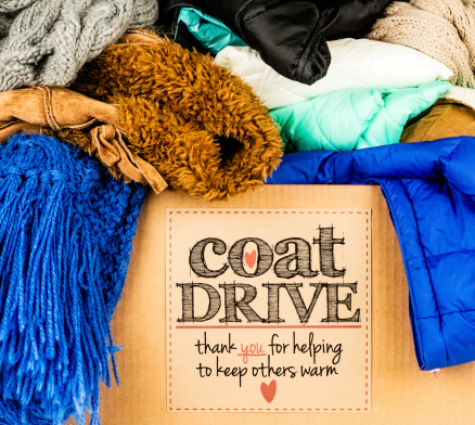 Winter Coat「Coat Drive Promotion」:スマホ壁紙(7)