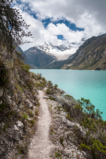 Eco Tourism「Lake Paron In The Peruvian Andes」:スマホ壁紙(11)