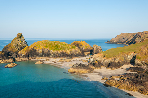 Rocky Coastline「Lizard Peninsula, Kynance Cove」:スマホ壁紙(11)