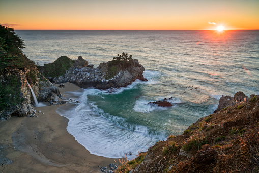 Big Sur「Winter Sunset at Julia Pfeffer Burns」:スマホ壁紙(10)