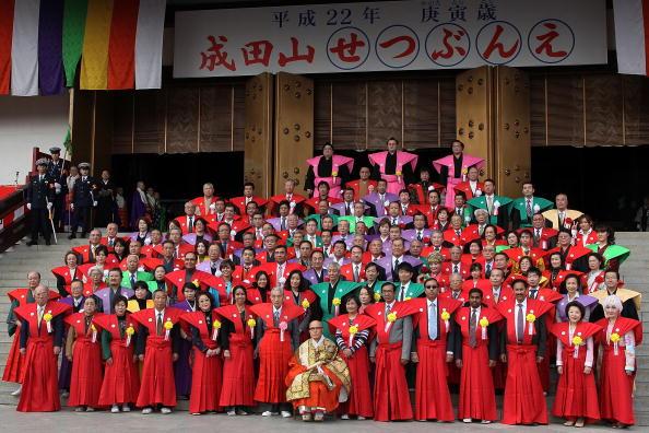 Setsubun「Bean Scattering Ceremony Held To Celebrate The Coming Of Spring」:写真・画像(18)[壁紙.com]