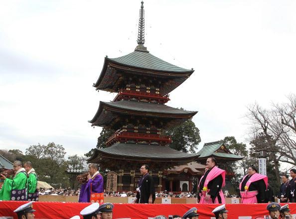 稀勢の里 寛「Bean Scattering Ceremony Held To Celebrate The Coming Of Spring」:写真・画像(1)[壁紙.com]