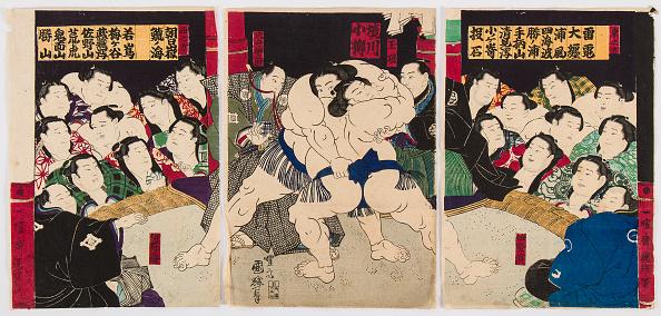 江戸時代「Sumo Wrestlers」:写真・画像(13)[壁紙.com]