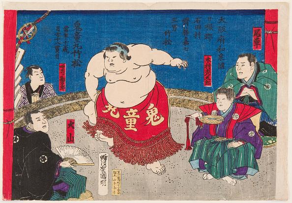 江戸時代「Sumo Wrestler Kidomaru」:写真・画像(19)[壁紙.com]