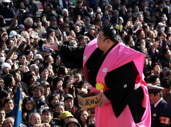 Setsubun「Bean Scattering Ceremony Held To Celebrate The Coming Of Spring」:写真・画像(17)[壁紙.com]
