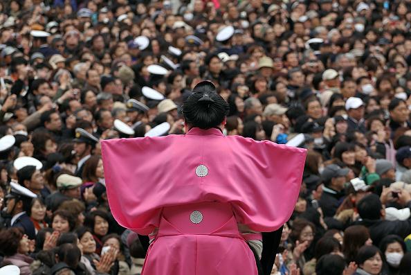 Setsubun「Bean Scattering Ceremony Held To Celebrate The Coming Of Spring」:写真・画像(2)[壁紙.com]