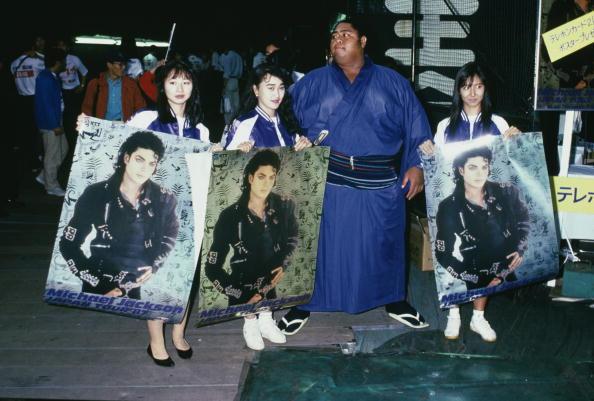 小錦「Japanese Jackson Fans」:写真・画像(0)[壁紙.com]