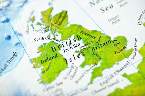 Irish Sea「Ireland and Britain」:スマホ壁紙(14)