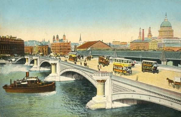 Double-Decker Bus「Blackfriars Bridge」:写真・画像(12)[壁紙.com]