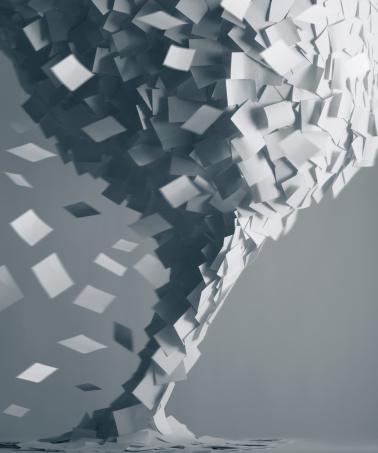 Employment And Labor「Paper tornado」:スマホ壁紙(10)