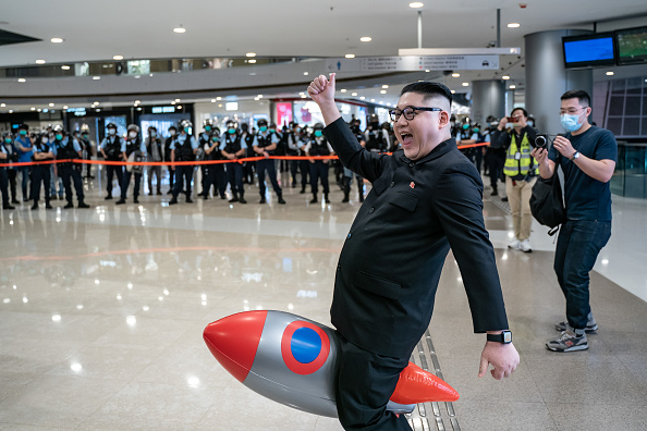 Kim Jong-Un「Anti-Government Protests Continue In Hong Kong Amid The Coronavirus Pandemic」:写真・画像(19)[壁紙.com]