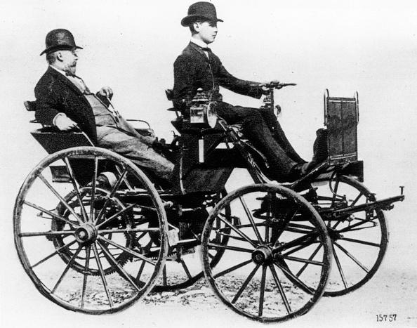 ダイムラーAG「Early Daimler」:写真・画像(12)[壁紙.com]