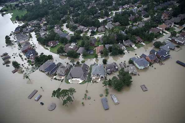 Houston - Texas「Epic Flooding Inundates Houston After Hurricane Harvey」:写真・画像(1)[壁紙.com]