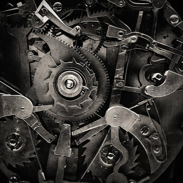 Antique Clock Mechanism:スマホ壁紙(壁紙.com)