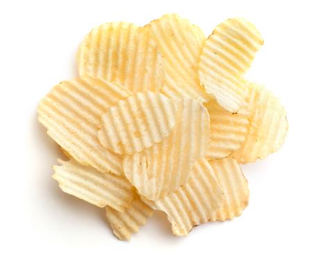 Potato Chip「One Serving of Wavy Potato Chips 1 ounce」:スマホ壁紙(15)