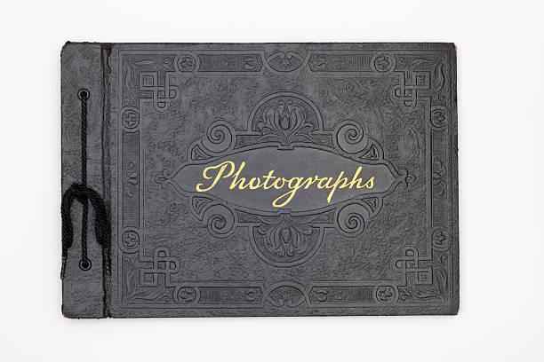 Antique Photography Book Cover, Old Black Leather Photograph Album:スマホ壁紙(壁紙.com)