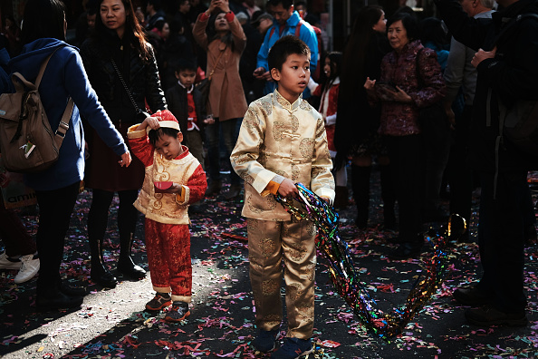 Cultures「Lunar New Year Celebrated In New York City's Chinatown」:写真・画像(6)[壁紙.com]