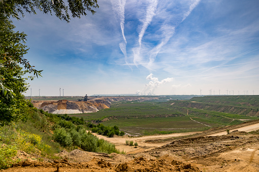 Grevenbroich「Germany, North Rhine-Westphalia, Lignite coal field Garzweiler I」:スマホ壁紙(18)