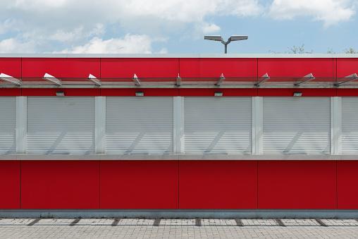 Stadium「Germany, North Rhine-Westphalia, Duesseldorf, Esprit Arena, Ticket counter」:スマホ壁紙(14)