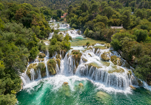 Woodland「Krka National Park Waterfalls, Croatia」:スマホ壁紙(13)