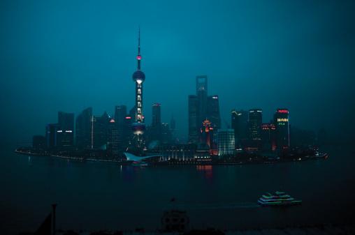 2013「Shanghai, China, skyline.」:スマホ壁紙(11)