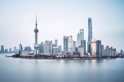 胸を打つ「上海,中国 」:スマホ壁紙(14)