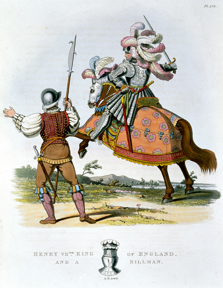 Circa 15th Century「Henry VII King Of England And A Billman (1824)」:写真・画像(19)[壁紙.com]