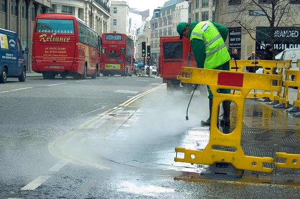 Hose「Water jetting, street cleaning.」:写真・画像(13)[壁紙.com]