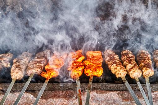 Smoke - Physical Structure「Kebab Grill in Uzbekistan」:スマホ壁紙(12)