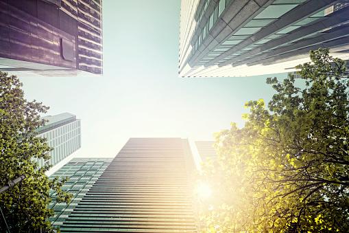 Australia「looking up at Melbourne buildings」:スマホ壁紙(12)
