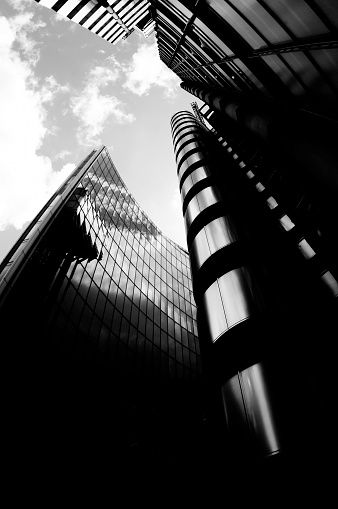 Concave「Looking Up at Glass Office Buildings.」:スマホ壁紙(14)