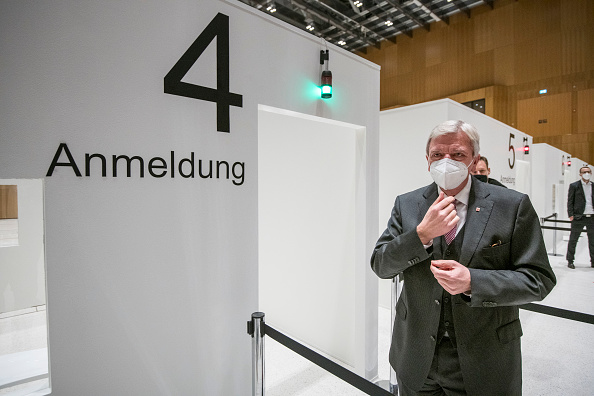 Wiesbaden「Vaccine Centers Under Construction Across Germany」:写真・画像(14)[壁紙.com]