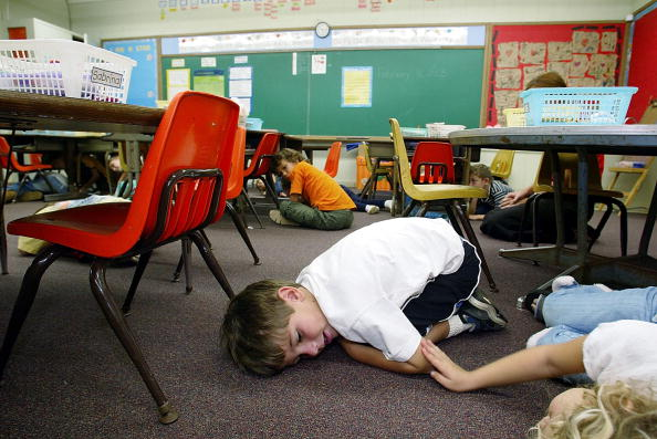 練習「Hawaiian Kindergardeners Practice Lockdown Drills」:写真・画像(0)[壁紙.com]
