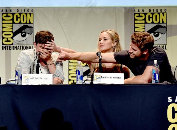 "San Diego Convention Center「Comic-Con International 2015 - ""The Hunger Games: Mockingjay Part 2"" Panel」:写真・画像(18)[壁紙.com]"