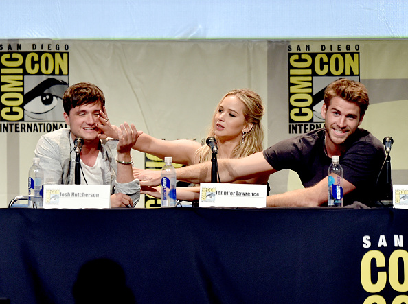 コミコン「Comic-Con International 2015 - 'The Hunger Games: Mockingjay Part 2' Panel」:写真・画像(7)[壁紙.com]