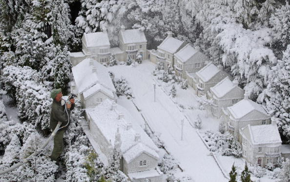 Frozen Water「Babbacombe Model Village Create A Winter Wonderland」:写真・画像(11)[壁紙.com]