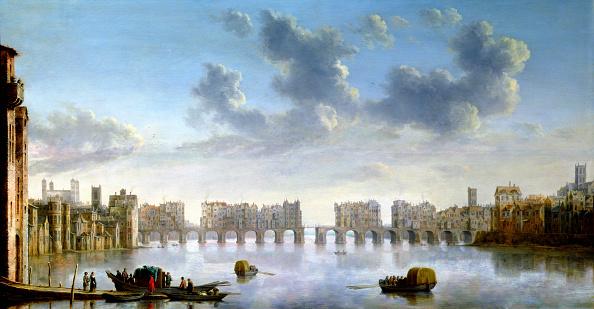 17th Century「Old London Bridge circa 1630」:写真・画像(9)[壁紙.com]