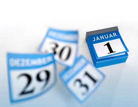 New Year「German calendar January 1st 2016」:スマホ壁紙(2)