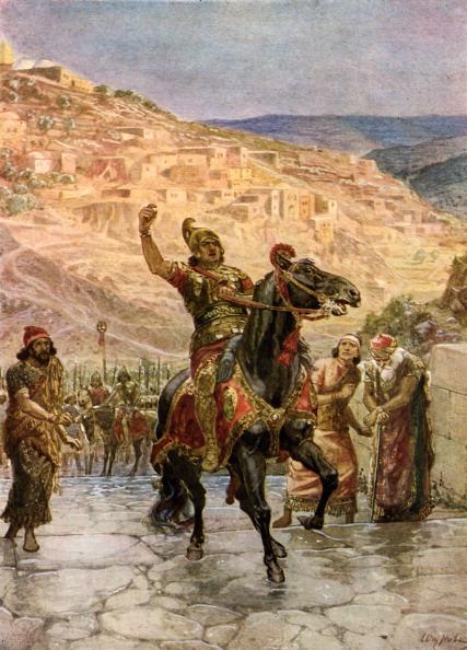 Surrendering「The Assyrian Rabshakeh demanding the surrender of Jerusalem」:写真・画像(18)[壁紙.com]