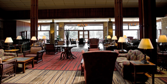 Hotel Reception「Jasper Park Lodge Lounge」:スマホ壁紙(18)