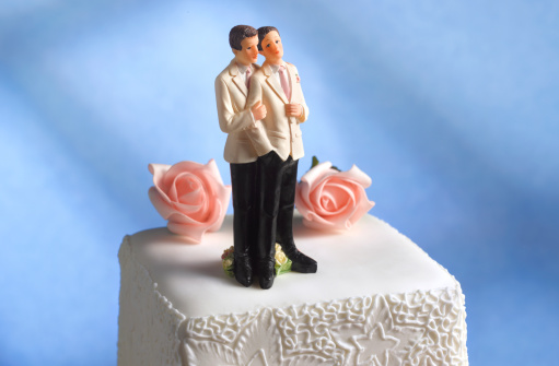 Married「Gay male wedding figurines」:スマホ壁紙(1)
