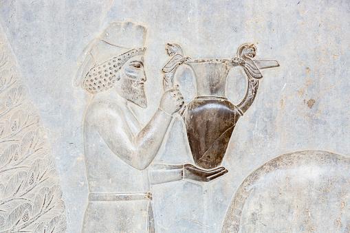 Iranian Culture「Bas-Relief of Tribute Bearer in Apadana Palace」:スマホ壁紙(2)