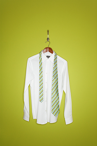 Coathanger「Dress shirt and tie on hanger」:スマホ壁紙(13)