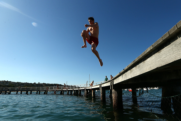 Jumping「Sydney Braces For Record High October Temperatures」:写真・画像(3)[壁紙.com]