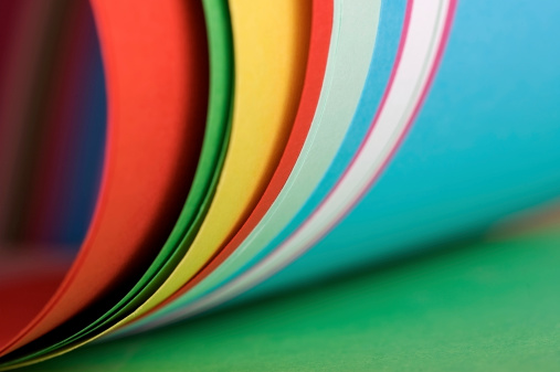 虹「カラフルなペーパーます。」:スマホ壁紙(12)
