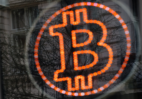 Cryptocurrency「Bitcoin LED sign」:スマホ壁紙(9)